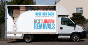 3.5t moving van from Best London Removals