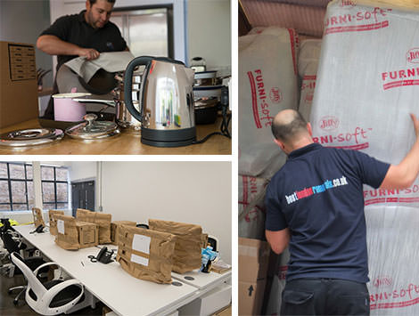 Best London Removals team in action.