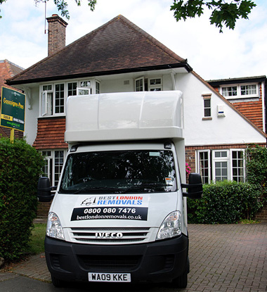 Moving home in London
